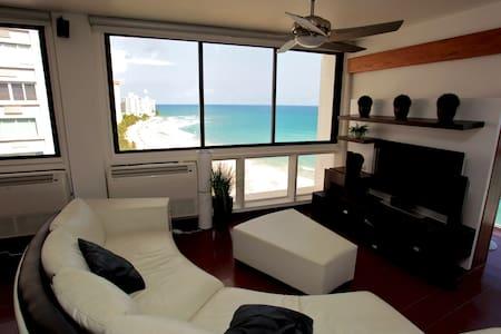 Beachfront 3 Bedroom Apt. - Condado - San Juan