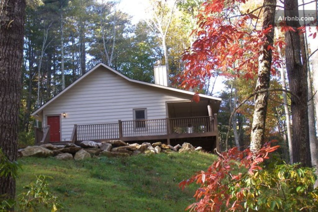 Your private, spacious cabin in the mountains!