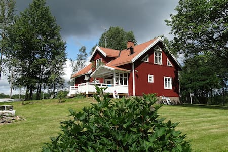 Southern of Sweden, Smaland, Flybo Sjöaborg - House