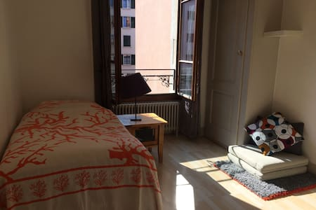 Quiet nice room close to everything - Geneva - Apartmen