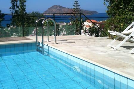 Pelagos Holidays 2, with seaview - Platanias