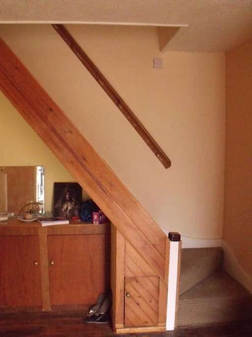 Attic room in friendly shared house