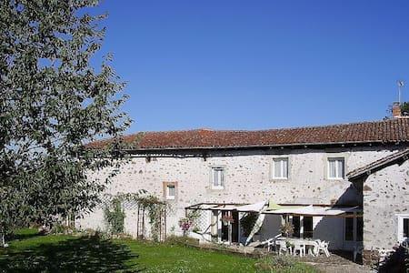 Large Farmhouse In Pretty Hamlet - House