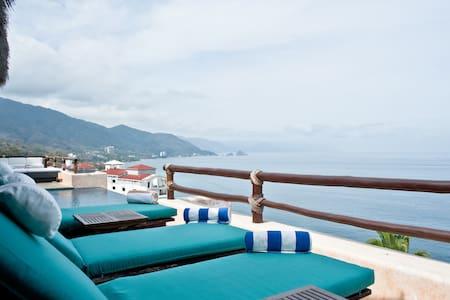 Oceanfront Villa in Puerto Vallarta - Puerto Vallarta