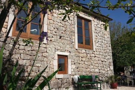 Stonehouse at Lake Skadar north - House