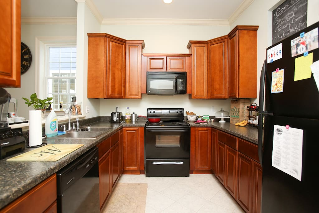 Kitchen...feel free to cook any night of your stay