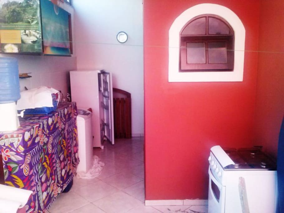 Area de Serviço + Cozinha / Service area and kitchen