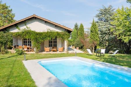 Studio au calme avec terrasse, jardin et piscine - Haus