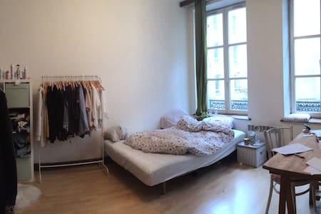 joli appartement dans super coloc - Lejlighed