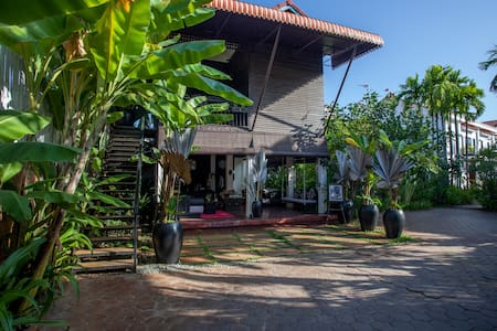 wooden house centrally located
