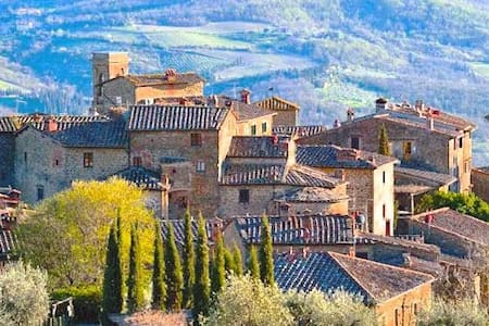 Mansion in the heart of Chianti - Volpaia - Apartment