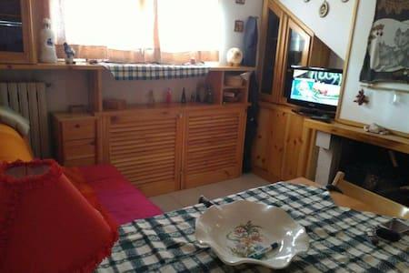 Mansarda/Appartamento centro Roccaraso panoramico - Roccaraso - House