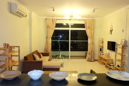Cozy room in rooftop view at the heart of HCMC - Ho Chi Minh City - Appartement