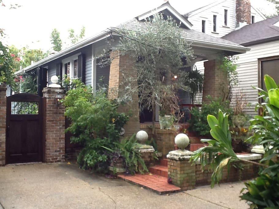 Audubon Park Craftsman Cottage