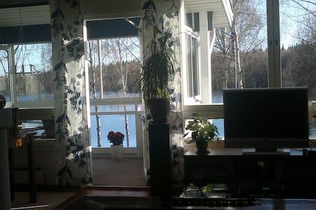 Unique lakeside house near Tampere - Hus
