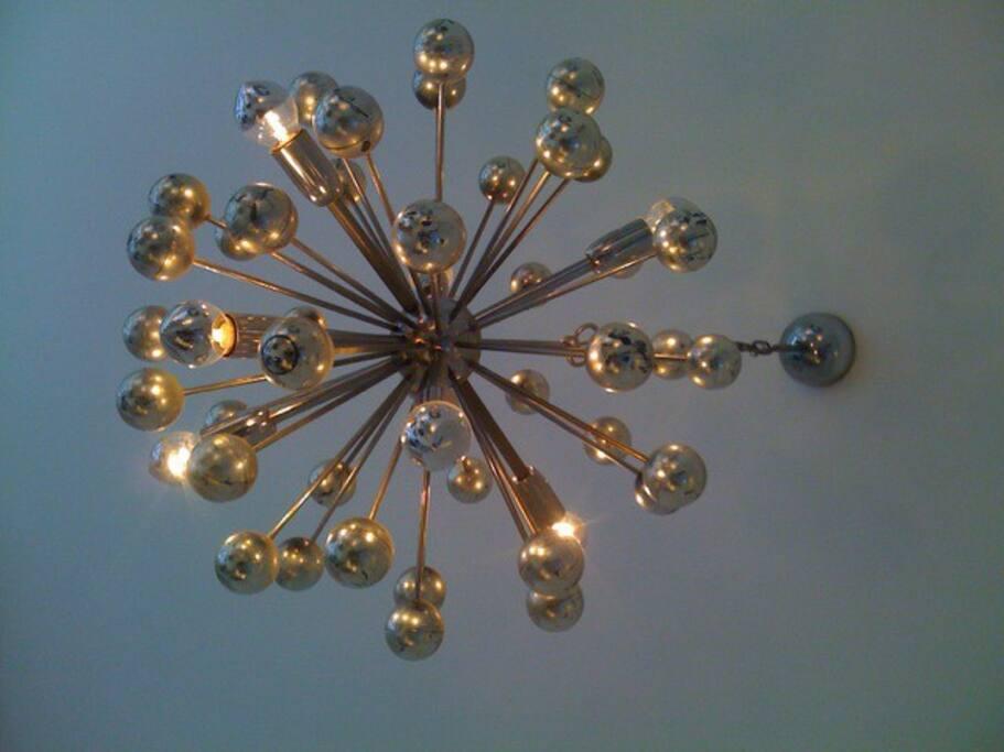 Original 70's Sputnik light