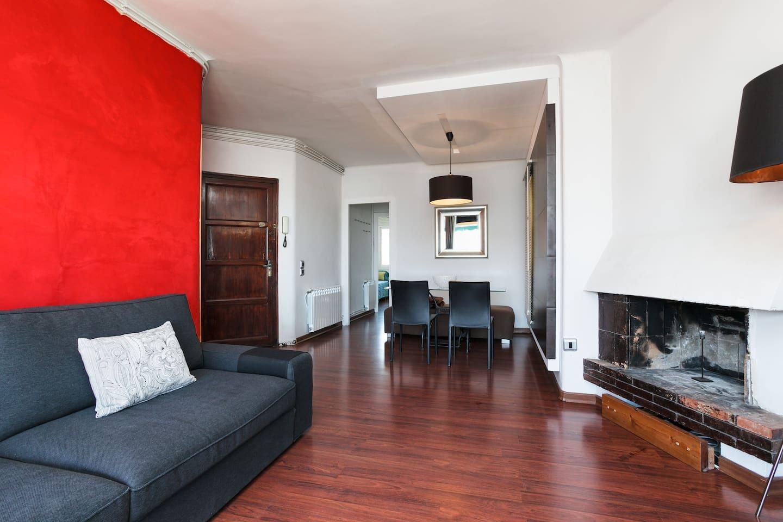 Living room, Salón