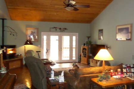 Ponderosa Road B&B in Linden/near Show Low - Casa