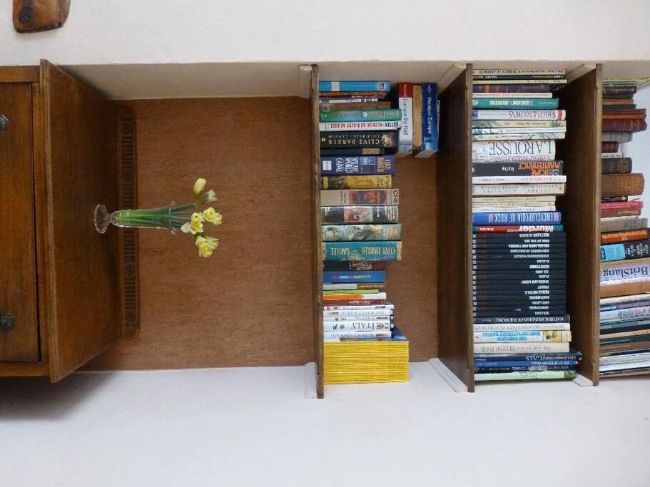 Books to peruse.