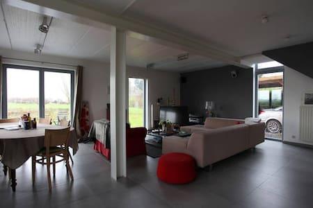 Belle Villa contemporaine dans la campagne / LLN - Incourt - Villa