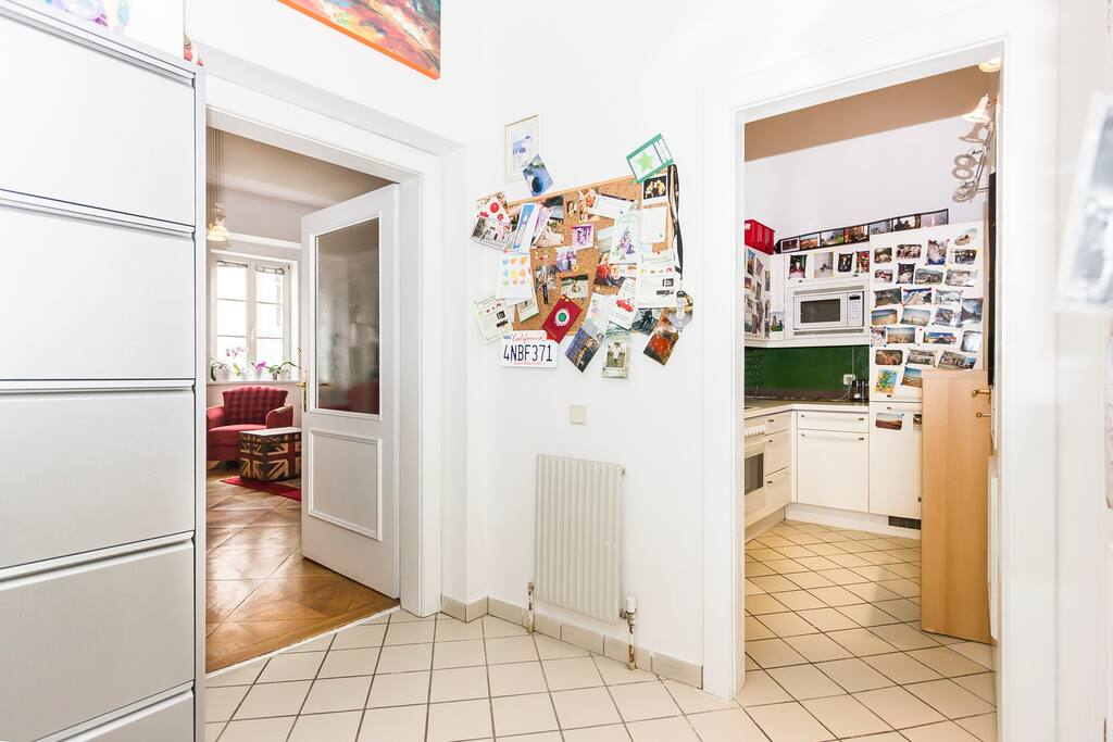 Apartment in the center of the city