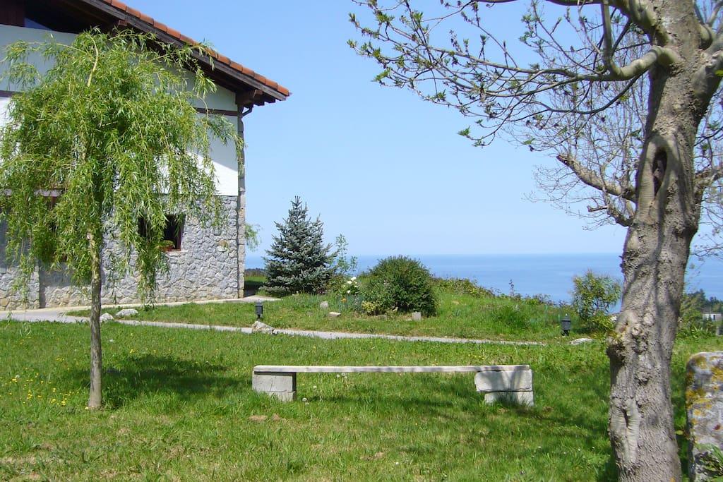 BASQUE COUNTRY HOUSE NEAR THE SEA.