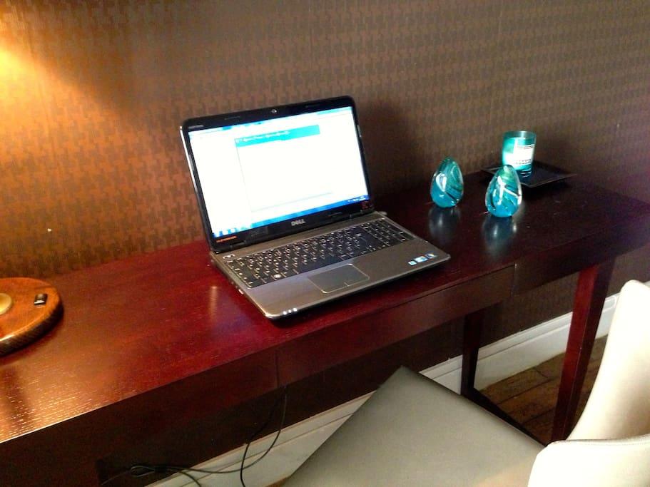 New laptop...