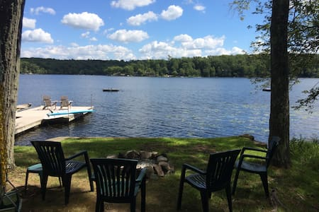 Lake House Cabin in Northwest NJ - Blockhütte