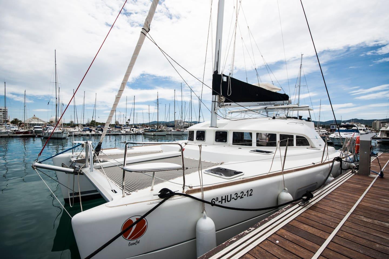 Catamaran in IBIZA rent day/weeks