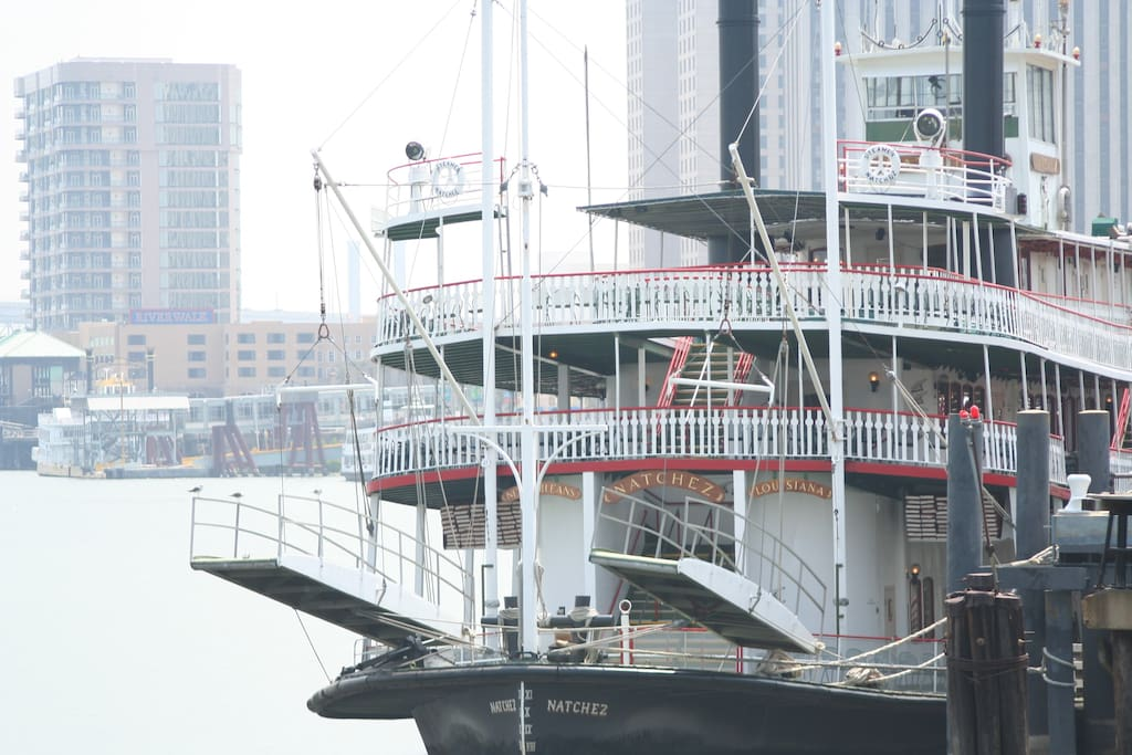 Riverboat Natchez in New Orleans
