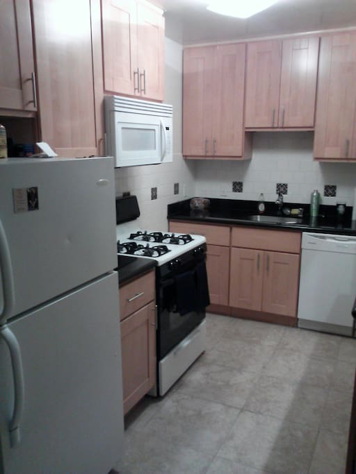View of the upgraded kitchen.