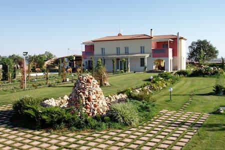 Villa with beautiful courtyard in Kilkis suburbs - Villa