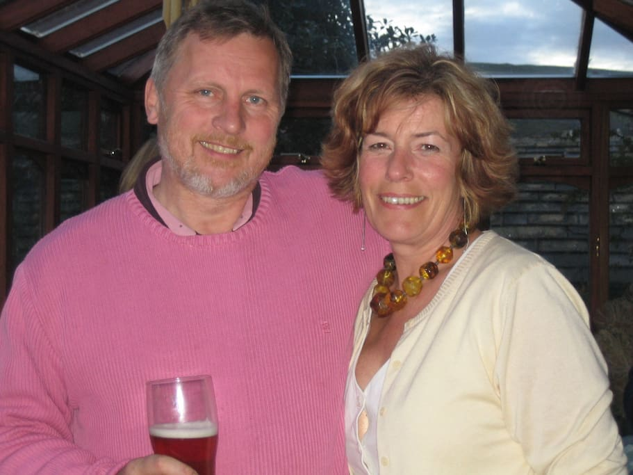 Chris & Susan - your hosts!