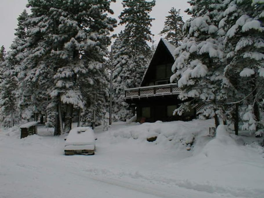 Winter view from the street.