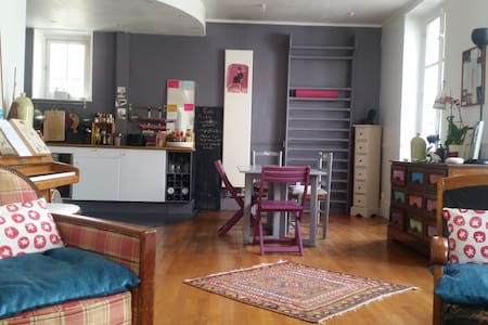 Appartement d'artiste  près Paris - Le Vésinet - Loft