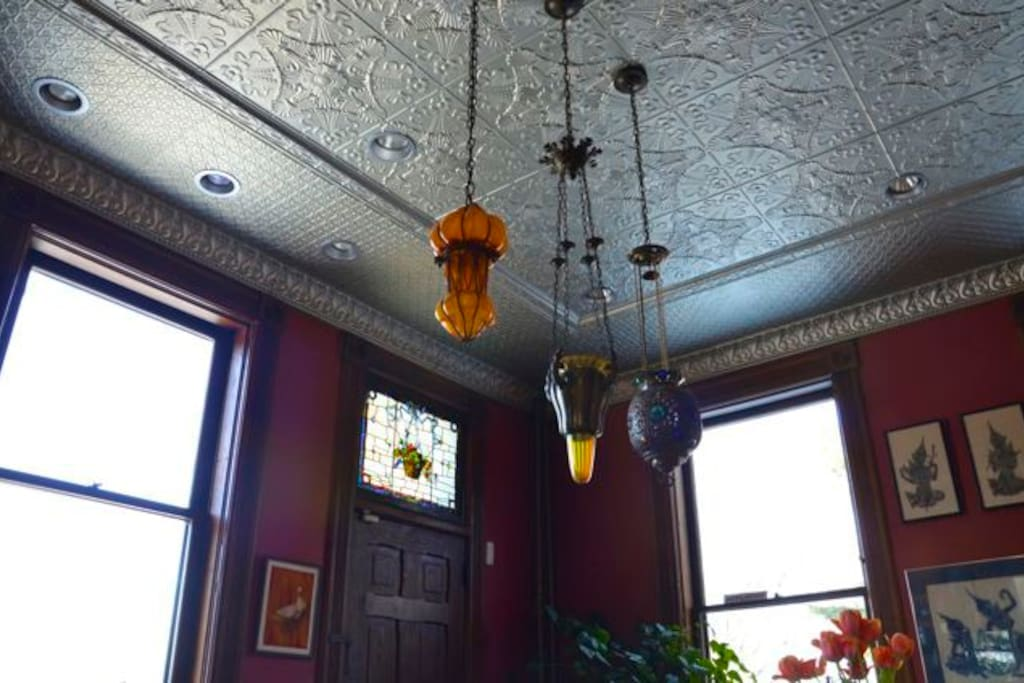 Authentic reproduction tin ceiling