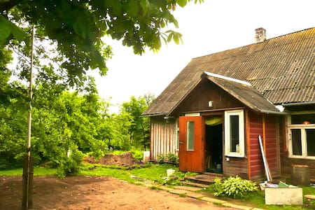 Traditional wooden house in Nature - Pärnu