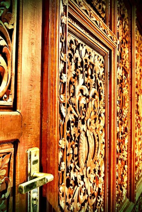 Balinese Villa BaBiBu - Gebyok Room