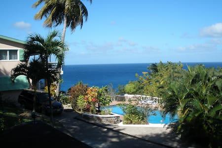 Min-y-Don, Caribbean hideaway - Woodlands - Huis