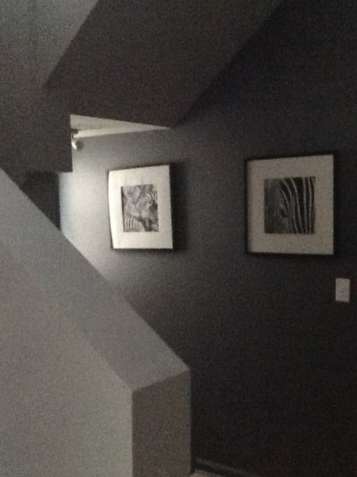 The lower level gallery.