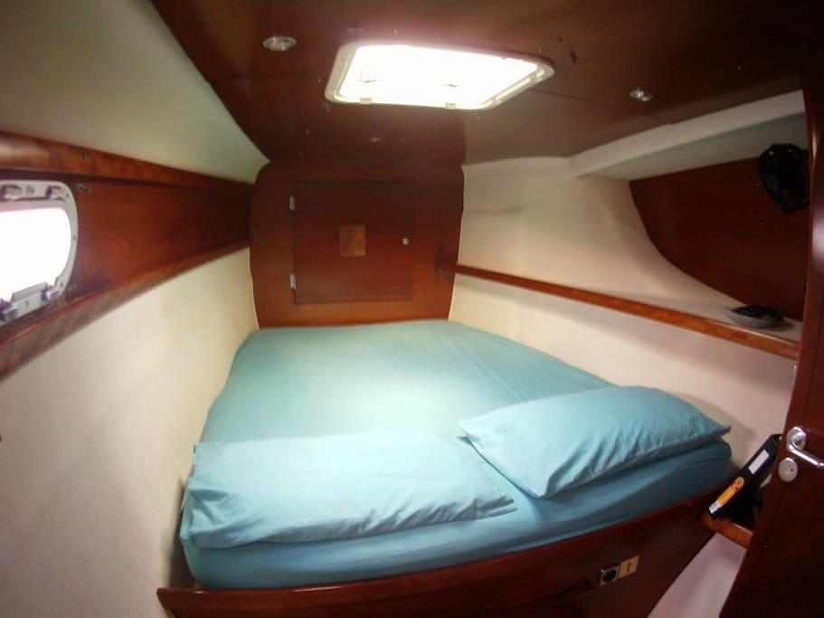 en-suite to every cabin