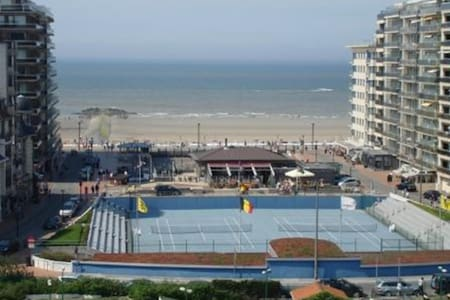 app.with nice sea view westende bad - Byt