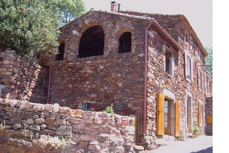 150yrs old stone house in a village