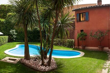 Unique apt. with pool - Trastever
