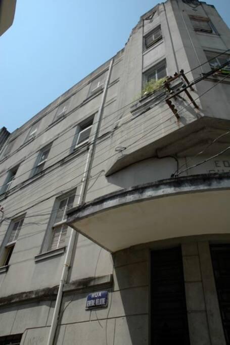 exterior apartment building