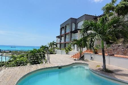 Caribbean-chic villa with panoramic - Sint Maarten - House