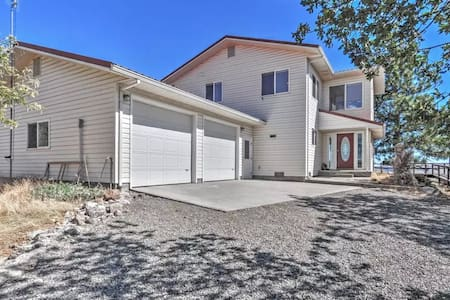 3BR Goldendale House w/Tremendous Views! - Goldendale - Hus