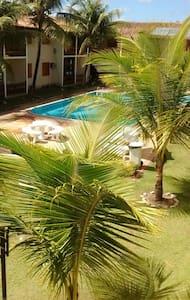Aconchego em um apart com piscina - Porto Seguro - Apartamento