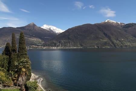 Unique house directly on Lake Como - Rezzonico