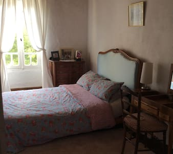 Double Bedroom (1), Le Jasmin Bleu Farmhouse - Bed & Breakfast